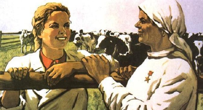 """""""I ti ćeš biti heroj!"""". Sovjetski plakat. Iz slobodnih izvora."""