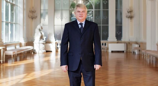 Aleksej Meškov, prvi predstavnik Rusije u FAO. Izvor: Michele Palazzi