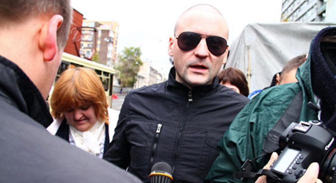 Istražna komisija RF optužuje Sergeja Udaljcova za pripremanje nereda u Moskvi i drugim regijama Rusije. Izvor: ITAR-TASS.