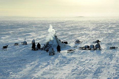 """Polarni krug je jedan od glavnih """"brendova"""" Jamala. Izvor: ITAR-TASS."""