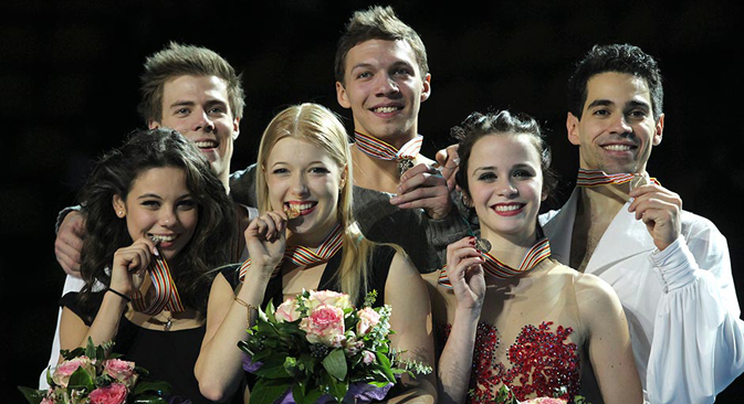 Na prvenstvu je bilo nekoliko senzacija, ali i potpuno očekivana pobjeda ruskih sportaša, koji su pobijedili u konačnom poretku, osvojivši dvije zlatne, dvije srebrne i jednu brončanu medalju. Fotografija: REUTERS, Antonio Bronić.