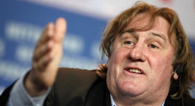Depardieu pripada onima koji se ne boje govoriti ono što misle. On se zaista ponosi svojim prijateljstvom s predsjednikom Putinom, ne pridajući pažnju tome što ga istovremeno blate francuski i ruski novinari. Fotografija: Christian Charisius/ Reuters
