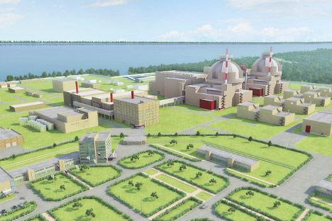 """Ruski projekt nuklearne elektrane """"Belene"""", koja se trebala izgraditi na Dunavu, 3 km od mjesta Belene u sjevernoj Bugarskoj. Ova elektrana je planirana kao zamjena za staru nuklearnu elektranu """"Kozloduj"""", koju je Bugarska zatvorila kao uvjet za ulaz"""