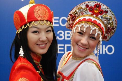 S otvaranja jubilarnog desetog Krasnojarskog ekonomskog foruma. Izvor: Rossijskaja gazeta.
