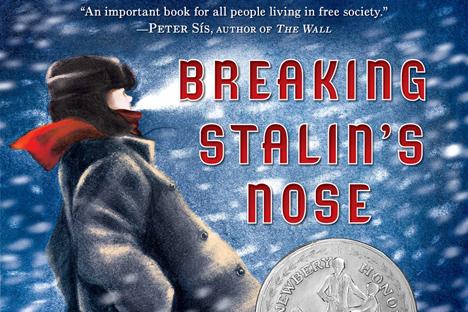 """Naslovnica knjige """"Breaking Stalin's Nose"""" E. Eljčina na engleskom jeziku. Izvor: Amazon.com."""