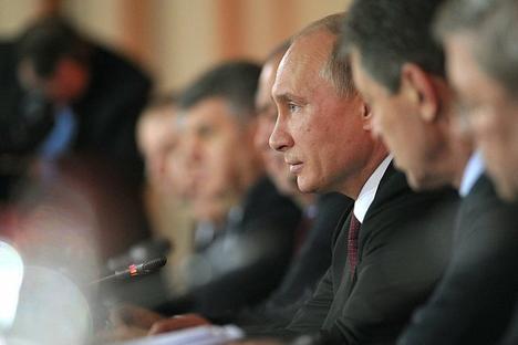 Vladimir Putin istaknuo je povećanje značaja kulturno-civilizacijske dimenzije konkurencije u svijetu. Izvor: prezident.rf.