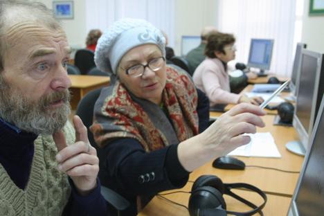 Svaki peti građanin Rusije (prema podacima od 1. siječnja 2012. to je 32,4 milijuna ljudi) ispunjava starosni uvjete za odlazak u mirovinu. Izvor: ITAR-TASS.