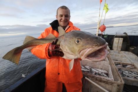 Car među ruskim jelima: slatkovodna riba profinjenog okusa. Izvor: ITAR-TASS.