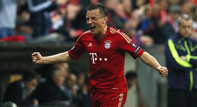 Nakon što je napustio CSKA, Olić je proveo tri sezone u Bayern Münchenu, najvećem njemačkom klubu. Fotografija: Reuters.