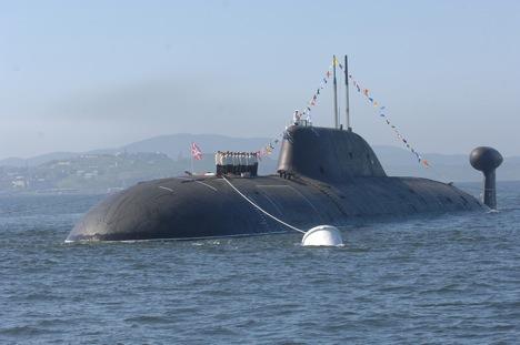 """Podmornica iz projekta 971 (klasa """"Štuka-B""""). Izvor: ITAR-TASS."""