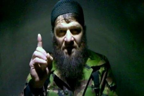 Dokku Umarov za kojeg se sumnja da je direktno povezan s Kavkaz-centrom. Izvor: ITAR-TASS