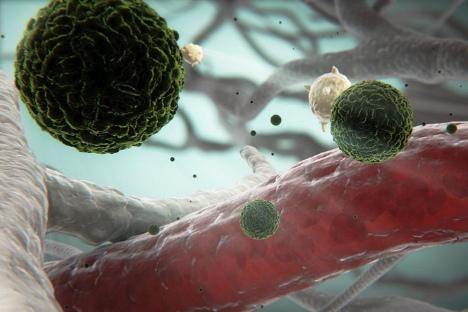 """Virus denga groznice, jedan od proizvoda """"azijskog biološkog vrela"""". Denga groznica se najčešće susreće u Jugoistočnoj Aziji, Africi, Oceaniji i Karibima. Izvor: Sanofi Pasteur"""