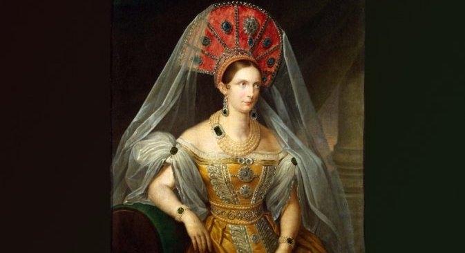 """Ove godine u Rusiji se obilježava 400 godina dinastije Romanovih. Obljetnica se proslavlja neuobičajenom izložbom """"Ruske carice: Moda i stil. Od kraja 18. do početka 20. stoljeća"""". Fotografija ljubaznošću organizatora izložbe."""