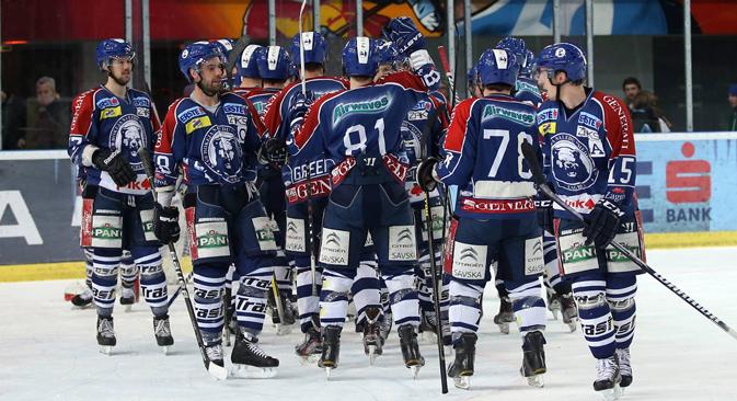 """Ranko Vučinić: """"Budući da smo uvjereni da će komisija lige donijeti pozitivnu presudu, mi se pripremamo za ulazak u KHL."""" Izvor: Image/GEPA."""