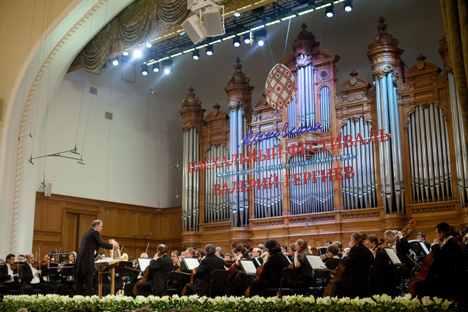 Moskovski Uskršnji festival održava se pod vodstvom dirigenta Valerija Gergijeva. Izvor: ITAR-TASS.