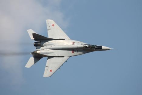 Let u stratosferu na lovcu MiG-29. Izvor: Vitalij Kuzmin