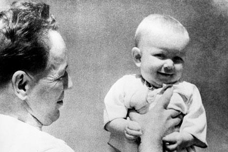 "Mihail Šolohov bio je otac četvero djece. Izvor: RIA ""Novosti"""