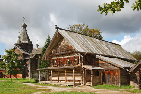 """Muzej """"Vitoslavlici"""" kod Velikog Novgoroda. Izvor: ITAR-TASS"""