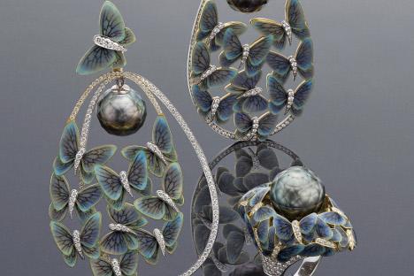 Najbolji draguljarski radovi ruskih majstora svake godine se izlažu na prestižnim svjetskim izložbama i sajmovima zlatarstva i urarstva u Vicenzi, Baselu, Berlinu i Hong Kongu. Izvor: PressPhoto