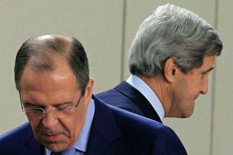 Državni tajnik SAD-a John Kerry i ruski ministar vanjskih poslova Sergej Lavrov. Izvor: Reuters