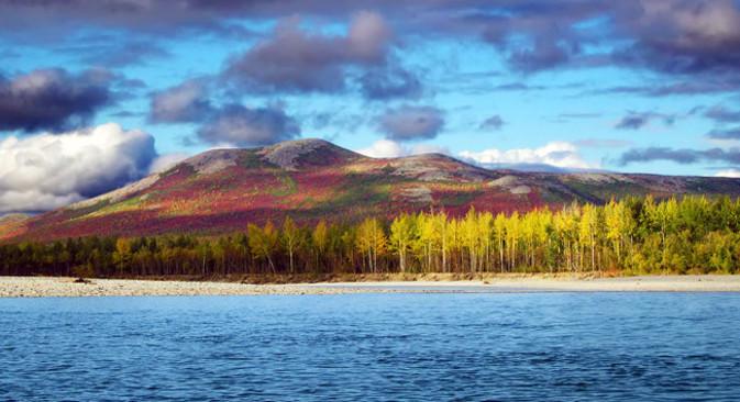 Zaljev Gavrila, Čukotka. Izvor: Lori Images