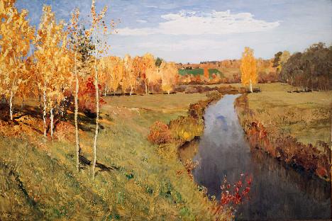 Isak Levitan: Zlatna jesen (1895)