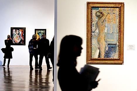 In der Eremitage eröffnet eine umfangreiche Ausstellung expressionistischer Werke. Foto: ITAR-TASS