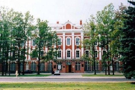 Zgrada sveučilišta u Sankt-Peterburgu gdje je predavao Jagić. Fotogragija iz slobodnih izvora