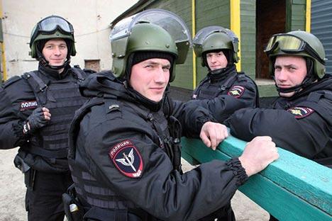 U rostovskoj specijalnoj policiji počeli su dovoditi blizance. Izvor: Viktor Pogoncev / Rossijskaja gazeta