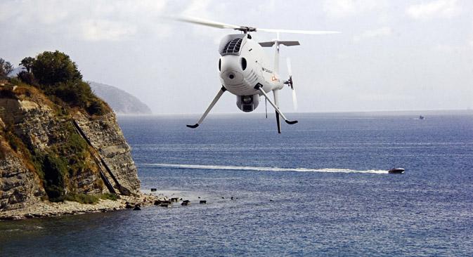 Smatra se da su bespilotne letjelice budućnost beskontaktnih ratova. Na slici: ruska letjelica Gorizont Ayr S-100. Izvor: ITAR-TASS