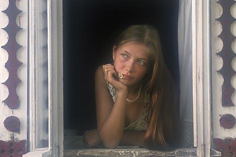 """Na selu i u Moskvi djevojke se ranije udaju i rađaju. Izvor: Vladimir Vjatkin / RIA """"Novosti"""""""