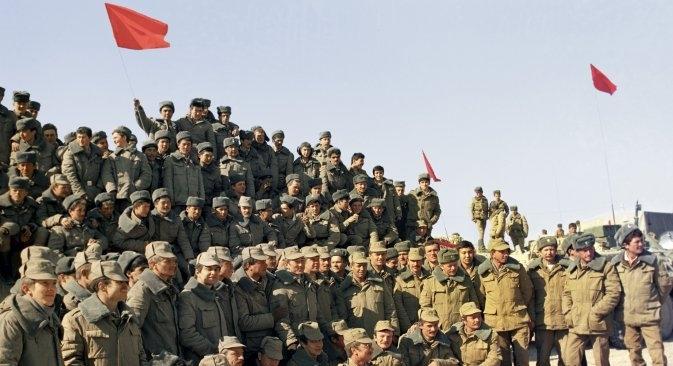 U Rusiji obilježili 25. godišnjicu odlaska sovjetske vojske iz Afganistana. Izvor: RIA Novosti