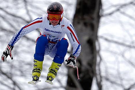 Aleksej Bugaev, najmlađi sudionik Paraolimpijade u Sočiju. Ovaj 16-godišnjak iz Krasnojarska osvojio je dva zlata, a ukupno je kući u Sibir odnio čak 5 medalja. Izvor: Reuters