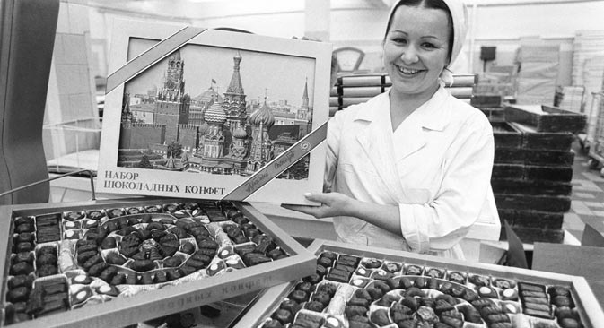 Stranci su u sovjetsko vrijeme često kupovali čokolade kao suvenir. Izvor: ITAR-TASS