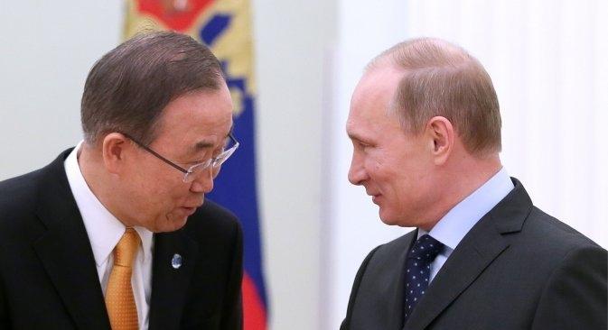 Glavni tajnik UN-a spreman biti posrednik između Moskve i Kijeva. Izvor: ITAR-TASS