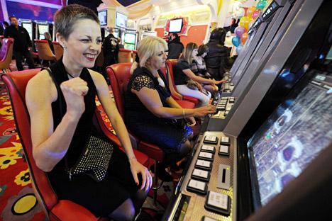 Слот машини во казино.
