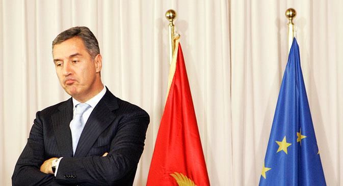 Ulazak u NATO je glavni nacionalni prioritet premijera balkanske države Đukanovića. Izvor: AP