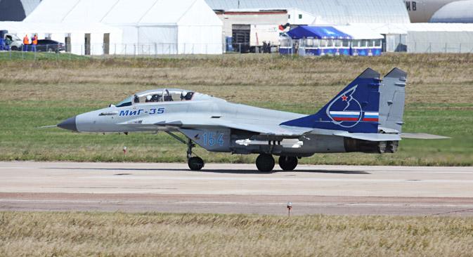 Prema ukupnim vojnim karakteristikama MiG-35 je najbolji laki lovac u svijetu. Izvor: ITAR-TASS