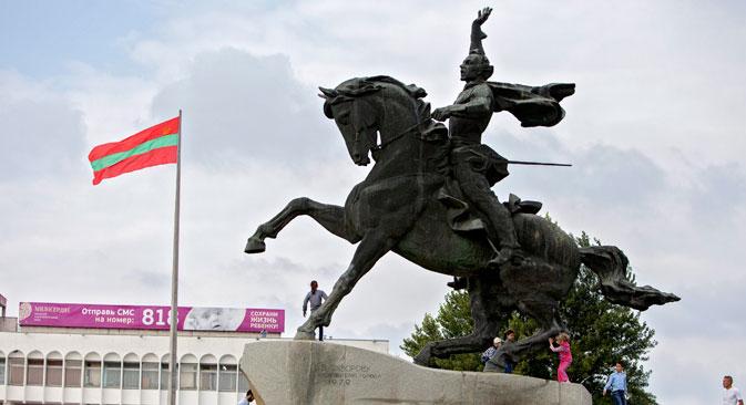 Spomenik Aleksandru Suvorovu u Tiraspolju. Izvor: ITAR-TASS