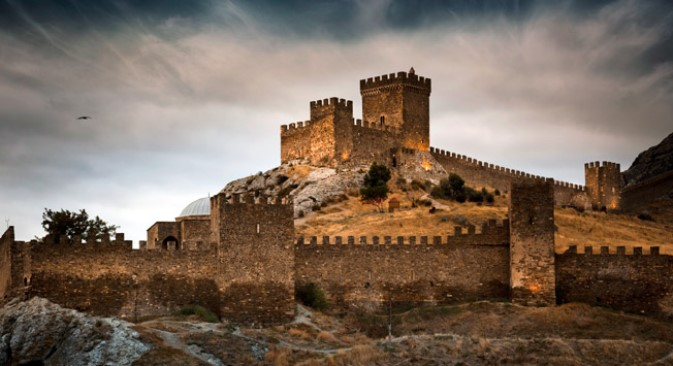 Sudak: Đenovska srednjovjekovna tvrđava. Izvor: Dmitrij Mordvincev / Getty Images.