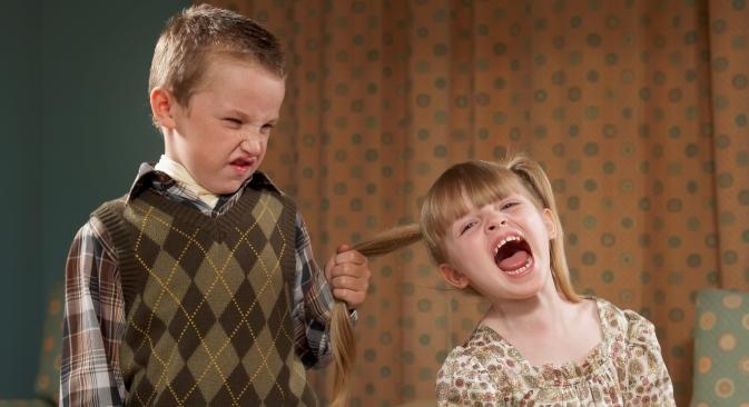 Deset posto djece su inicijatori agresije. Izvor: Getty Images / Fotobank