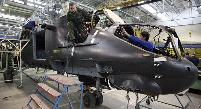 Helikopterski klaster je infrastrukturni projekt koji se financira u sklopu federalnog programa sa značajnim udjelom investicija kompanije Rostvertol Izvor: Photoshot / Vostock Photo