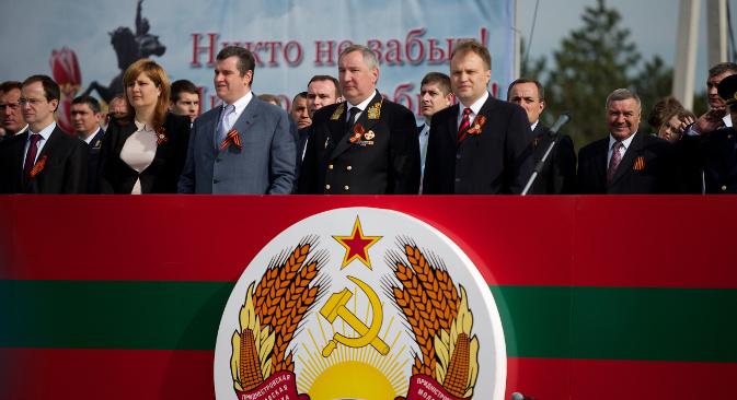 Vicepremijer RF Dmitrij Rogozin u posjeti Pridnjestrovlju. Izvor: RIA Novosti