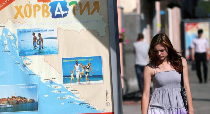 Uvođenje viznog režima nesumnjivo je oslabilo pozicije Hrvatske na ruskom tržištu. Izvor: ITAR-TASS