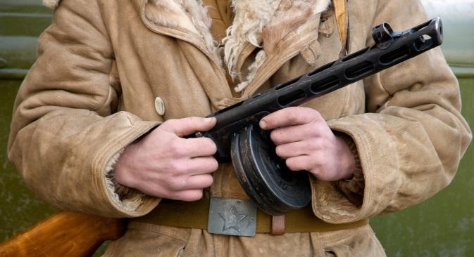 PPŠ-41 ima zasluženo mjesto na spomenicima sovjetskim ratnicima. Izvor: Lori/Legion Media