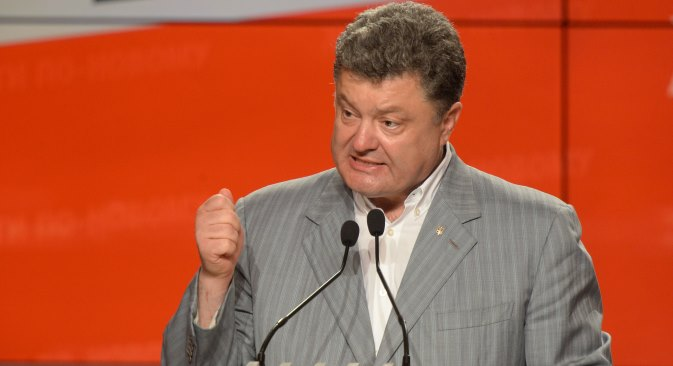 Newly elected Ukrainian president sticks to his guns in first interview. Source: RIA Novosti / Mihail Voskresensky