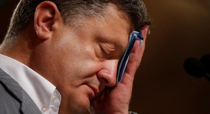 Porošenko je i poslije izbora ponovio svoje glavno obećanje da će vratiti Krim.Izvor: Reuters