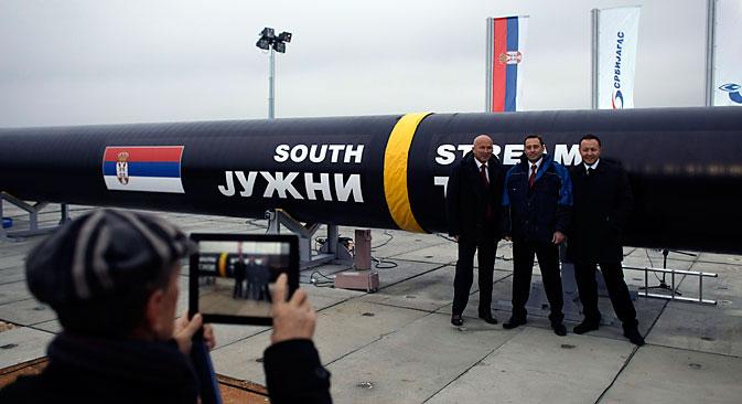 Pod pritiskom SAD-a i Europske komisije predstavnici Bugarske i Srbije službeno su izjavili o obustavi rada na projektu Južni tok. Izvor: AP