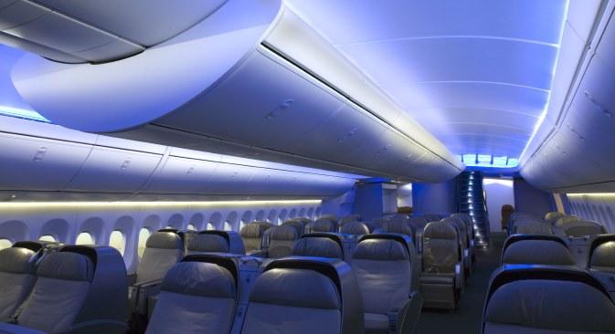 """""""Ne postavljamo si zadatak da budemo konkurencija postojećim avionima Boeing 747 i Airbus A350. Želimo se prije svega orijentirati na tržišta jugoistočne Azije, Rusije i zemalja Zajednice nezavisnih država"""", objašnjava Pogosjan. Izvor: Boeing"""