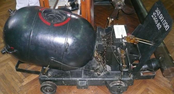 Predratna sidrena mina s mehaničkim upaljačem. Izvor: RIA Novosti